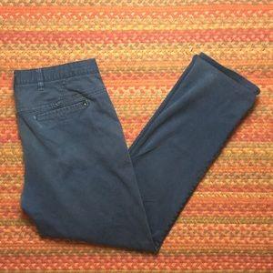 NAVY HURLEY CHINO PANTS